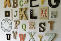 Alphabet Wall / by Little Miss Momma