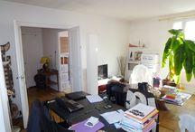 Avant-après Paris 16ème / Avant-Après Paris 16ème. Appartement, terrasse, blanc, sobre, chic. Agence Julien TOUJAN