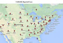 CADASIL Confirmed Cases Worldwide Maps