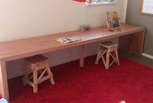 Kids design table