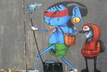 Arte de Rua / Street Art, Graffiti / As melhores intervenções urbanas, arte de rua (street art), graffiti