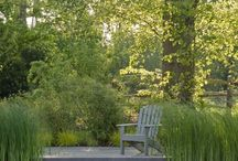 New Pond deck