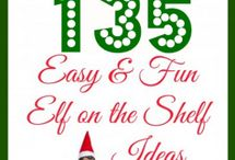 Christmas Elf on a Shelf Ideas