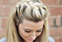 Girls French braids / Hair