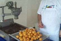 loukoumades at the 2014 fort wayne greek festival