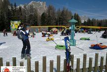 Pacotes de viagens - Neve / As Dolomitas no inverno são como um mundo para ser descoberto pelas crianças e pelas famílias!
