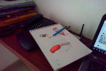 sketches / bocetos diarios