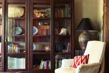 Bookcases, mantles, displays, etc. / by Susan Wilbanks