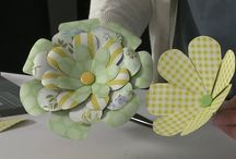 All About Flowers / Flower Punch Board, Flower Gifts, Flower Cards, Flower Insiration