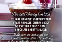 Pinnacle® Cherry On Top / A flavor for every rung on the corporate ladder. Pinnacle® Vodka has over 40 unique flavors to discover, enjoy and celebrate.