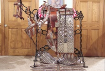 Western Tack / parade saddles and other western tack.  also see my board for spanish tack! / by Julie Bell