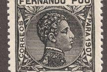 Spain- Fernando Poo Stamps