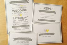 I do! [save-the-date + invitations] / by Erin F
