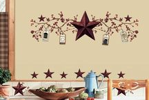 Rustic star kitchen / by Bethany Howard