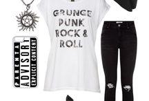 rock style fashion women