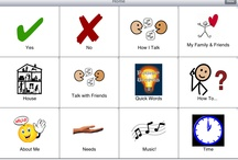 Getting Started AAC Boards / Getting started boards are available for all MyTalk users and were donated by other MyTalk users.  Each can be used as is, but they become very compelling when personal images are used to replace the sample images. / by MyTalk AAC