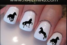 horses nail art gallery by nded / horses nail art gallery by nded