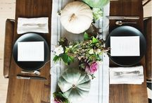 Table settings / by Tall girl's fashion // Anett Kallestad