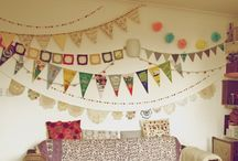 Bunting, Flags and Garlands OH MY!