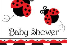 Lady bug theme baby shower
