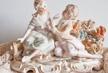 Antique & Vintage Capodimonte Porcelain / Refined Capodimonte Porcelain from 1743 by Real Fabbrica di Capodimonte ( Neaples italy) and from 1773 by Real fabbrica Ferdinandea to our days ............ Time to buy an antique is when u see it !