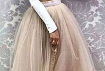 Spódnice tiulowe