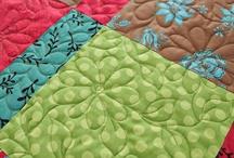 quilts, appliques, etc