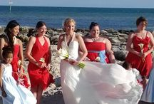 Love In Bloom on the beach / Wedding floral and decor on beaches of Key West