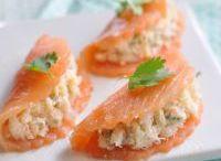 Entrée base saumon fume