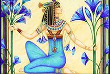 Egyptische tekenvoorbeelden