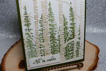 SU Woodlands Embossing Folder