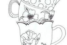 Kávé,tea
