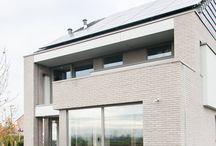 Nul-energiewoning in Linter door ARKANA / Nul-Energiewoning in houtskeletbouw