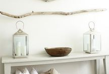 STYLES- BEACH COASTAL DECOR // PLAGE / Decoration ideas for a coastal decor - beach cottage