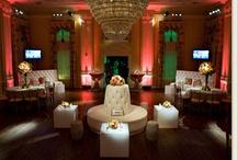 Wedding Uplighting | Red / #red #wedding #uplighting in #Dallas
