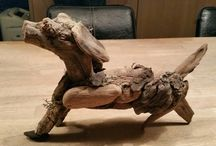 my driftwood work