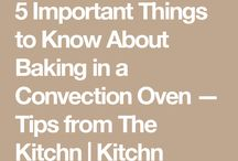 Convection Oven Cooking!