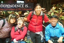Independence is...