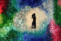 Lovebirds | Acrylic paints, 2015