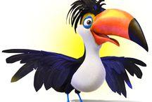 Pixel Boy Studio_3D Illustration / Some of our 3D artwork...