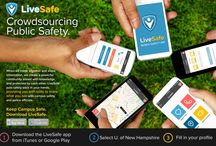 LiveSafe App / Download the LiveSafe smart phone app to make reports to and chat with the UNH Police Department.  www.livesafemobile.com / by UNH Police