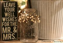 Vintage Wedding - Timeworn Treasures / We have tons of great vintage finds for your wedding featuring old suitcases, vintage cameras, shutters, antique furniture, burlap finds, flowers, mason jars, wooden crates, chalkboards, signs, letters/initials, vintage inspired jewelry, and the list goes on!