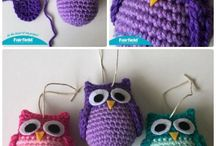 Owls in many patterns