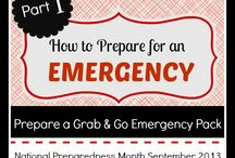 Prepare for an Emergency / Emergency preparedness is important in case anything were ever to arise! Follow this board for emergency preparedness tips and information!