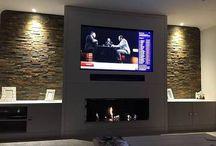 TV/Fire Wall