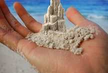 sand castles / by Bonnie Whittier
