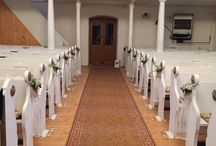 Wedding decoration / Decoration of the church! Simple and beautiful! :)