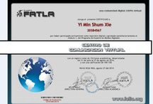 Certificados Obtenidos :D / Mis Certificados obtenidos :D (I feel proud to myself)
