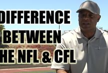 CFL vs NFL / What are the differences with these two football leagues?