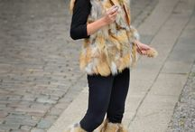 Women's quality winter outerwear ☆ by GNESS /  Women's quality winter outerwear ☆ Red Fox Fur Pieced Vest, Authentic Red Fox Fur pieces - ranch raised, incredibly popular fur